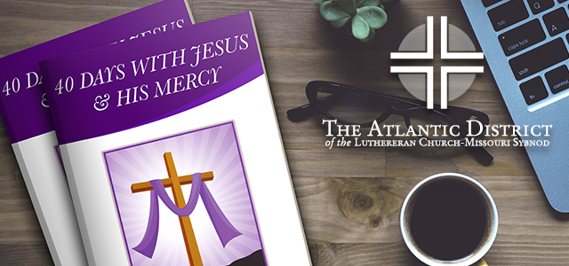 Image result for 40 days with jesus and his mercy atlantic district lcms
